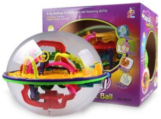 Intelect Ball - 3D hlavolam De Luxe 208