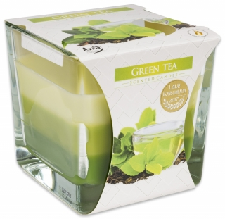 Bispol svíčka Coloured Green Tea 170g