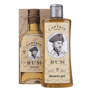 Captain Rum sprchový gel 250ml