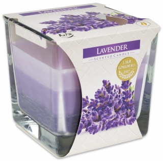 Bispol svíčka Coloured Lavender 170g