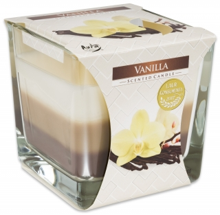 Bispol svíčka Coloured Vanilla 170g